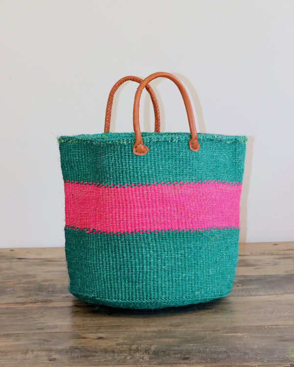 Kenyan Storage Basket 269 - Medium