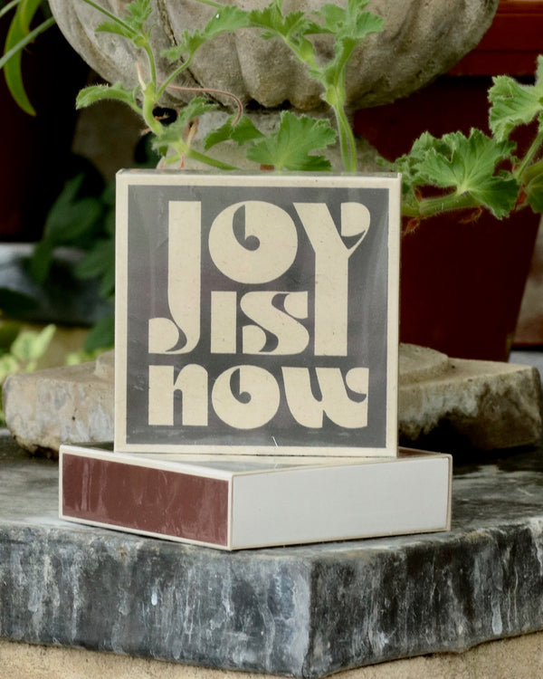 Square Matchbox - Joy