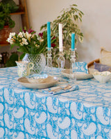 TABLECLOTH - Turquoise Paisley