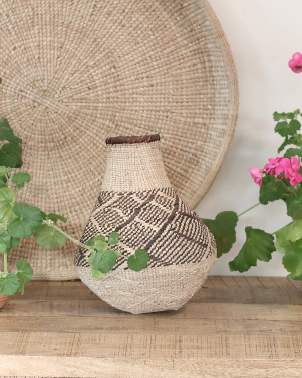 Patterned Binga Gourd Baskets- Small 08