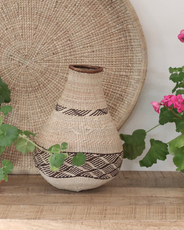 Patterned Binga Gourd Baskets - Small 10