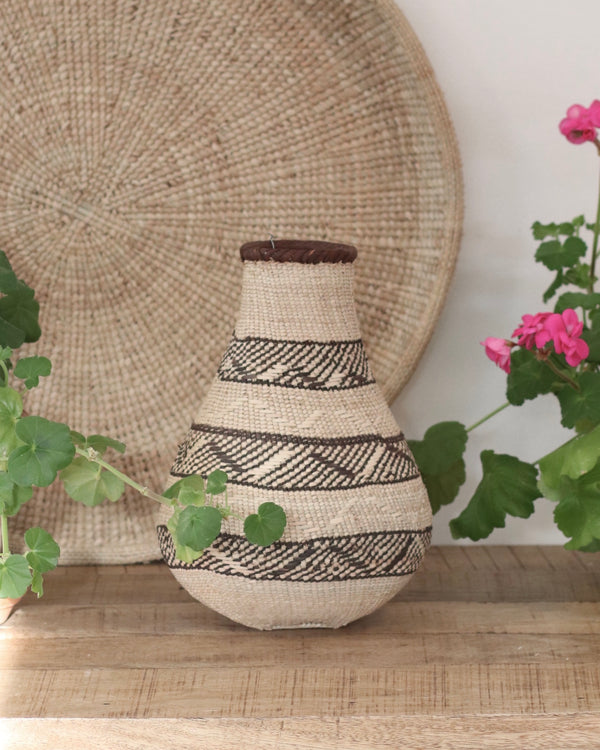 Patterned Binga Gourd Baskets- Small 04