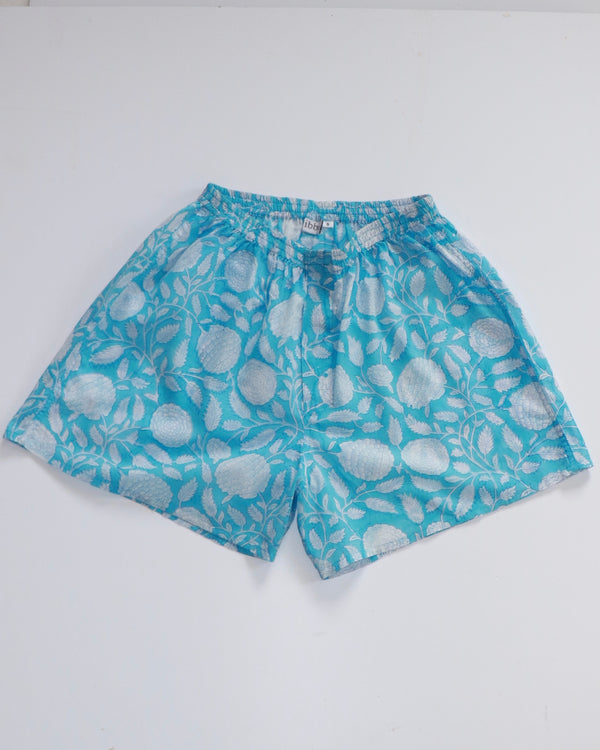 MENS Boxer Shorts - Turquoise