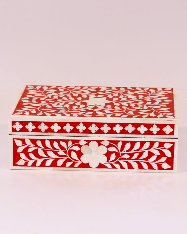 Inlay Box - Red