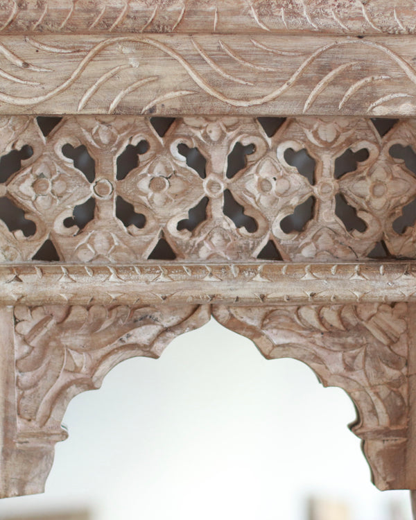Carved Haveli Mirror