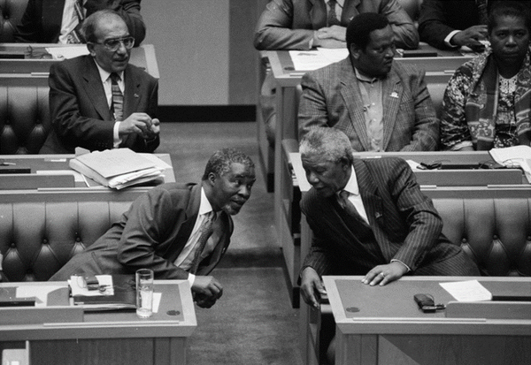 The Day South Africa's Constitution Was Signed