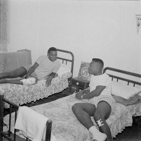 Pele and Coutinho as Teenagers