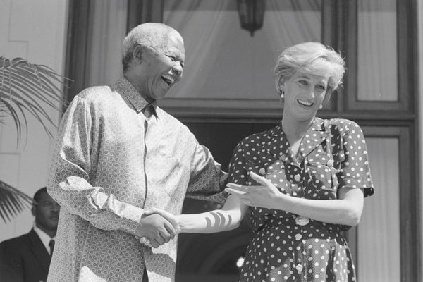 Mr. Mandela Meets Princess Diana