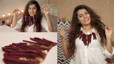Repurpose an Old T-shirt Into A Fringe Necklace