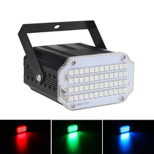 Carica l'immagine nel visualizzatore di Gallery, ALIEN 48 LED RGB UV White Strobe Lights Disco DJ Party Holiday Christmas Music Club Sound Activated Flash Stage Lighting Effect