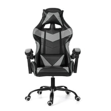 Load image into Gallery viewer, Leather Office Gaming Chair Home Internet Cafe Racing Chair WCG Gaming Ergonomic Computer Chair Swivel Lifting Lying Gamer Chair