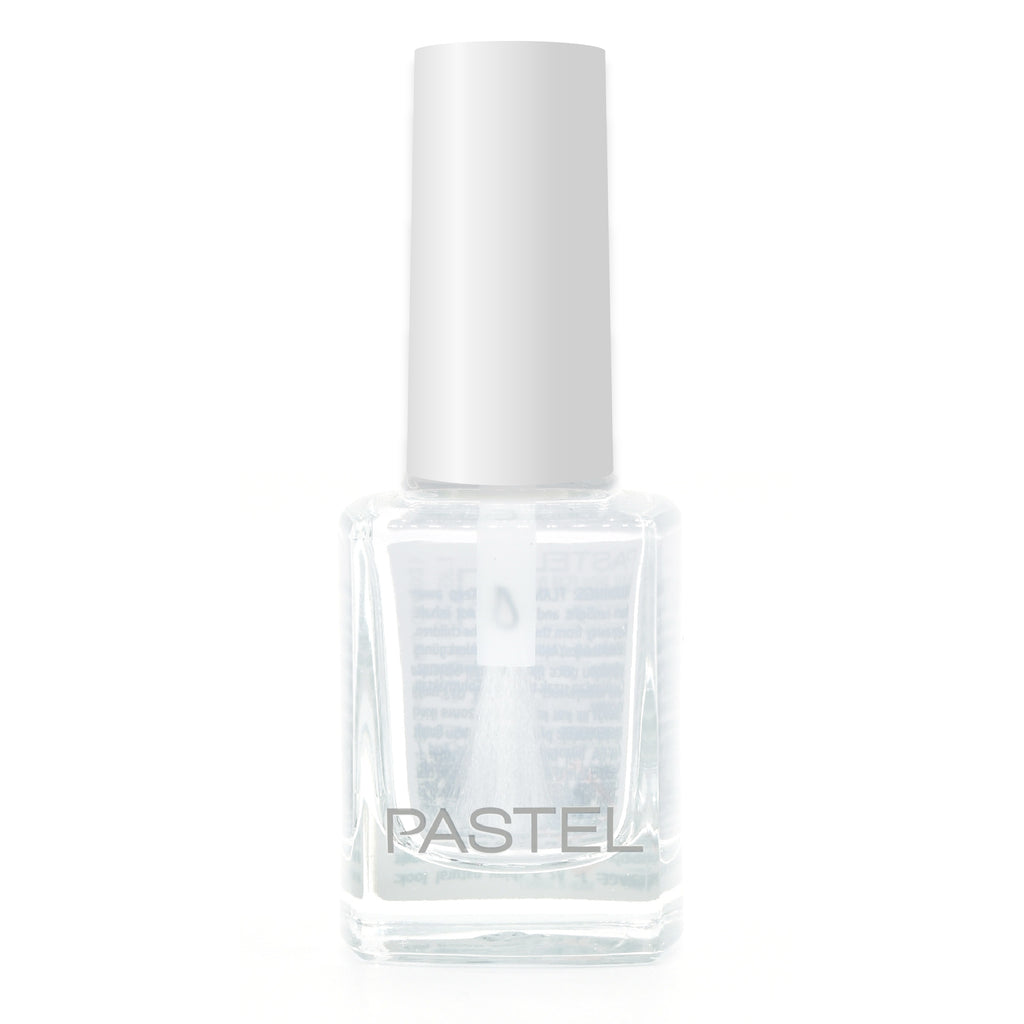 Pastel Nail Polish - 01 Crystal White