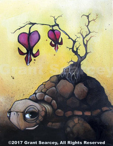 Bleeding Hearts Turtle