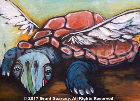 Earth Angel - Winged Turtle