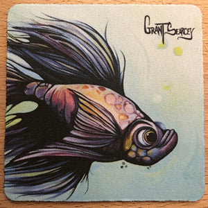 Challenger - Betta Fish Coaster