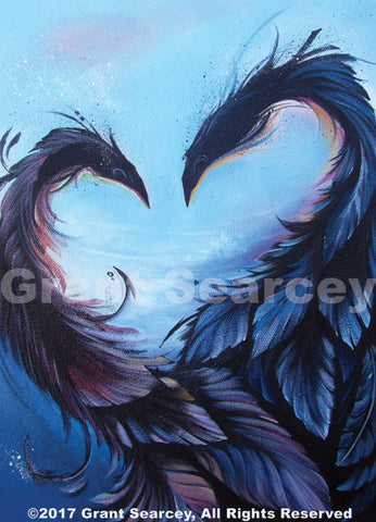 Powerful Love - Feathered Dragons