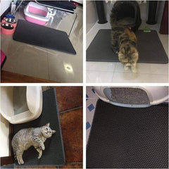 adorablycatz-cat litter mat-1