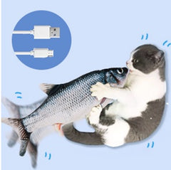 adorablycatz-Floppy Fish™ Cat Kicker Toy-2