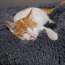 Load image into Gallery viewer, adorablycatz-calming cat bed-grey-2