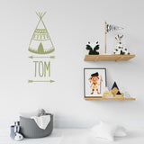 Wall sticker Teepee