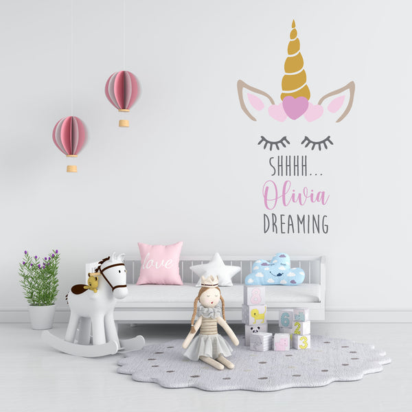 Wall sticker Unicorn