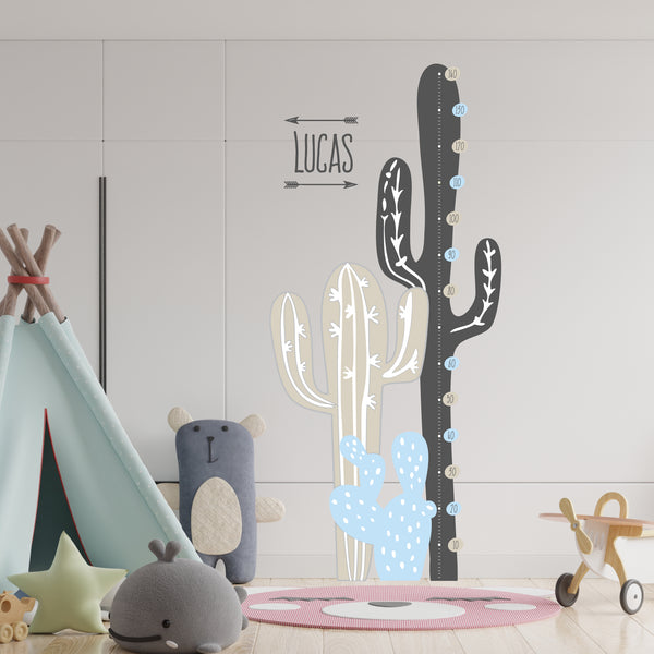 Growth Chart Cactus