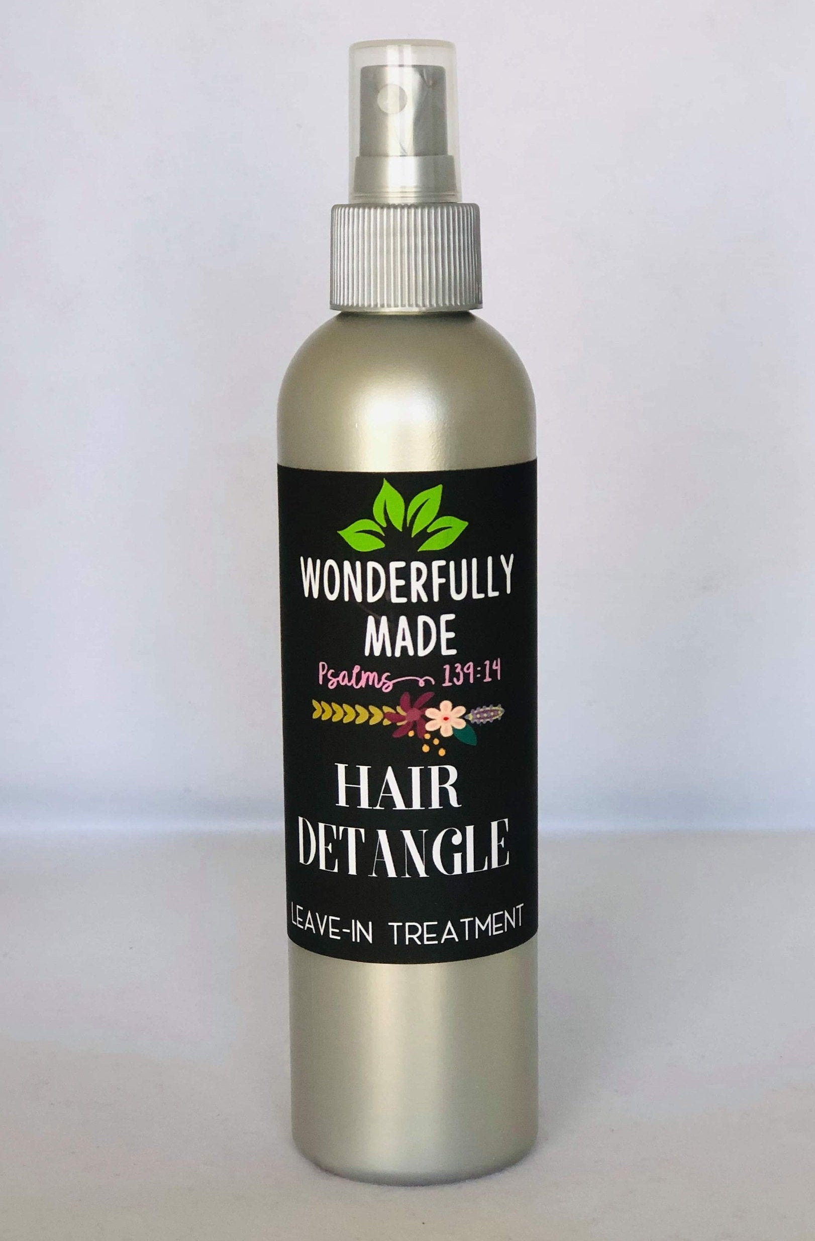 Hair Detangle | Leave-in Conditioner | Controls Frizz | Easy Combing | Styling Heat Protector | Organic Herbal | Natural Hair Products