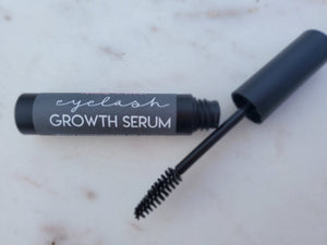 Eyelash Growth Serum | Grow Stronger Longer Thicker Eye Lashes | Eyebrow Hair Growth | With Mascara Spoolie | All Natural Eyelash Lengthen