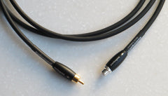 Silver Extreme Subwoofer Cable With Female & Male RCA Plugs Audioquest