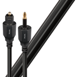 Audioquest Pearl Optical 3.5mm Mini to Full Size Toslink Cable