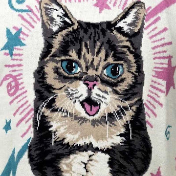 Lil Bub Sweater Front