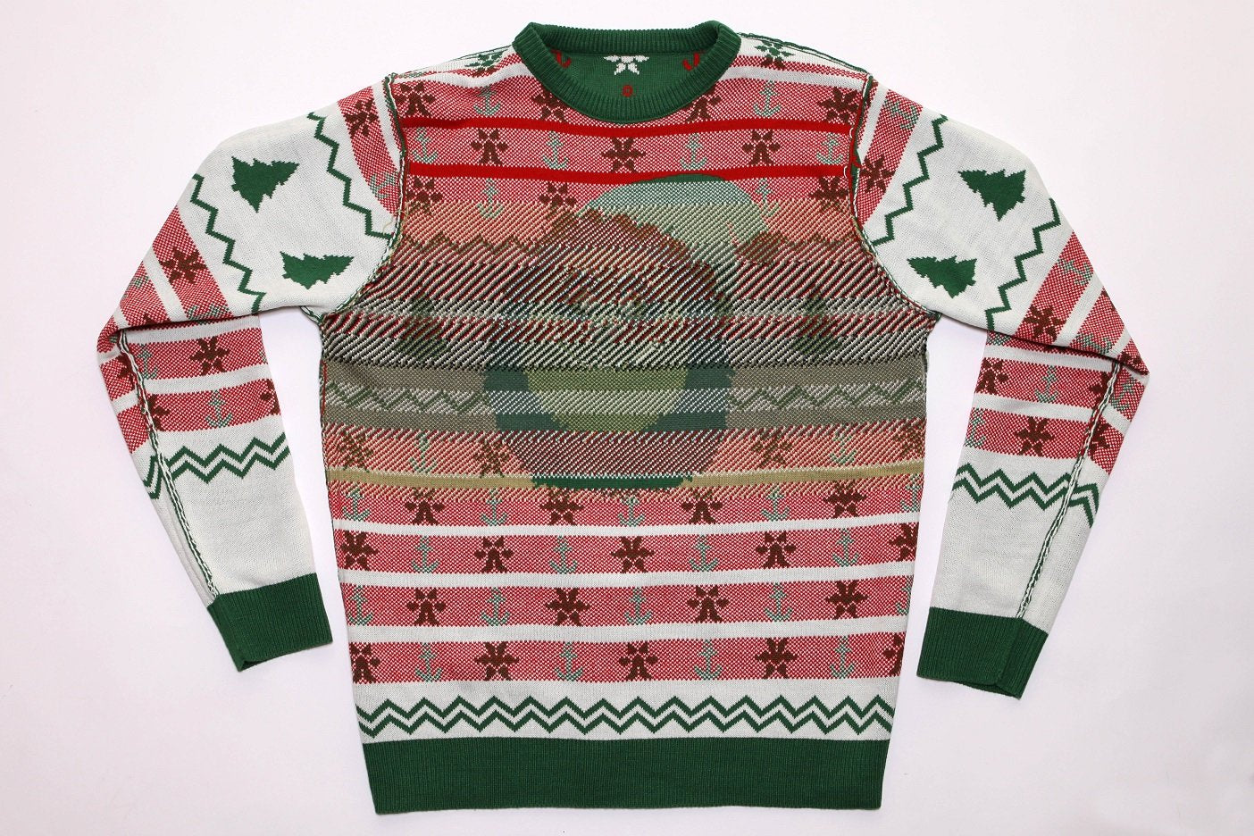 An image of the insude of an ugly sweater
