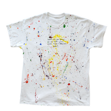 "Load image into Gallery viewer, ""PRECIOUS"" Painted T-shirt"