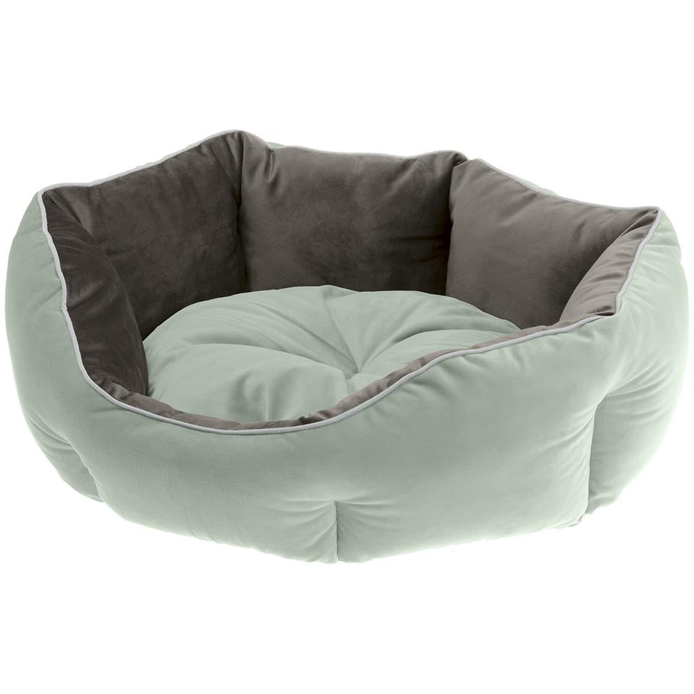 Ferplast QUEEN Velvet sofa for cats and dogs. Soft padding - various sizes and colours.