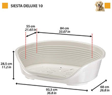 Load image into Gallery viewer, Ferplast Plastic Dog/Cat Bed Siesta deluxe 10