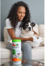 Load image into Gallery viewer, PAWZ SANIPAW® Paw Sanitizing Wipes