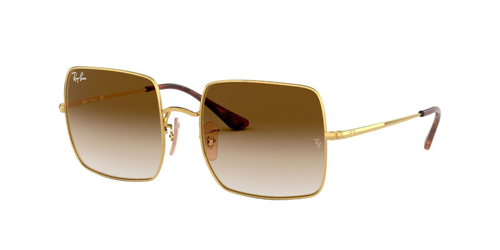 Ray-Ban Sunglasses Square RB1971 914751 Gold/Clear Gradient Brown - Size - 54