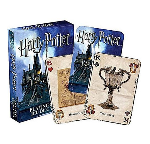 Harry Potter film theater harry potter hogwarts castle college badges playing cards