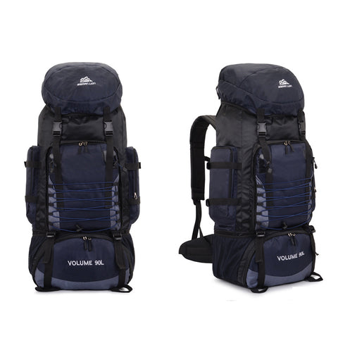 90L large capacity travel backpack