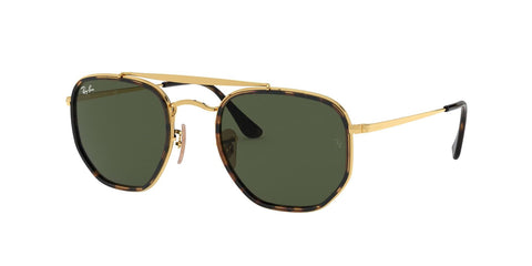 Ray-Ban Sunglasses The Marshal II RB3648M 001 Gold/Green - Size - 52