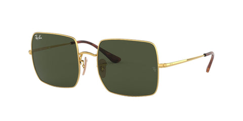 Ray-Ban Sunglasses Square RB1971 914731 Gold/Green - Size - 54