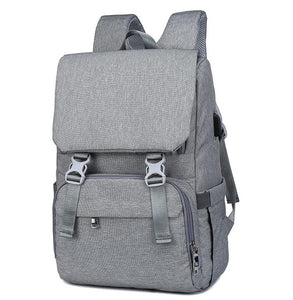 Baby Nappy Bag With USB Interface Large Backpack