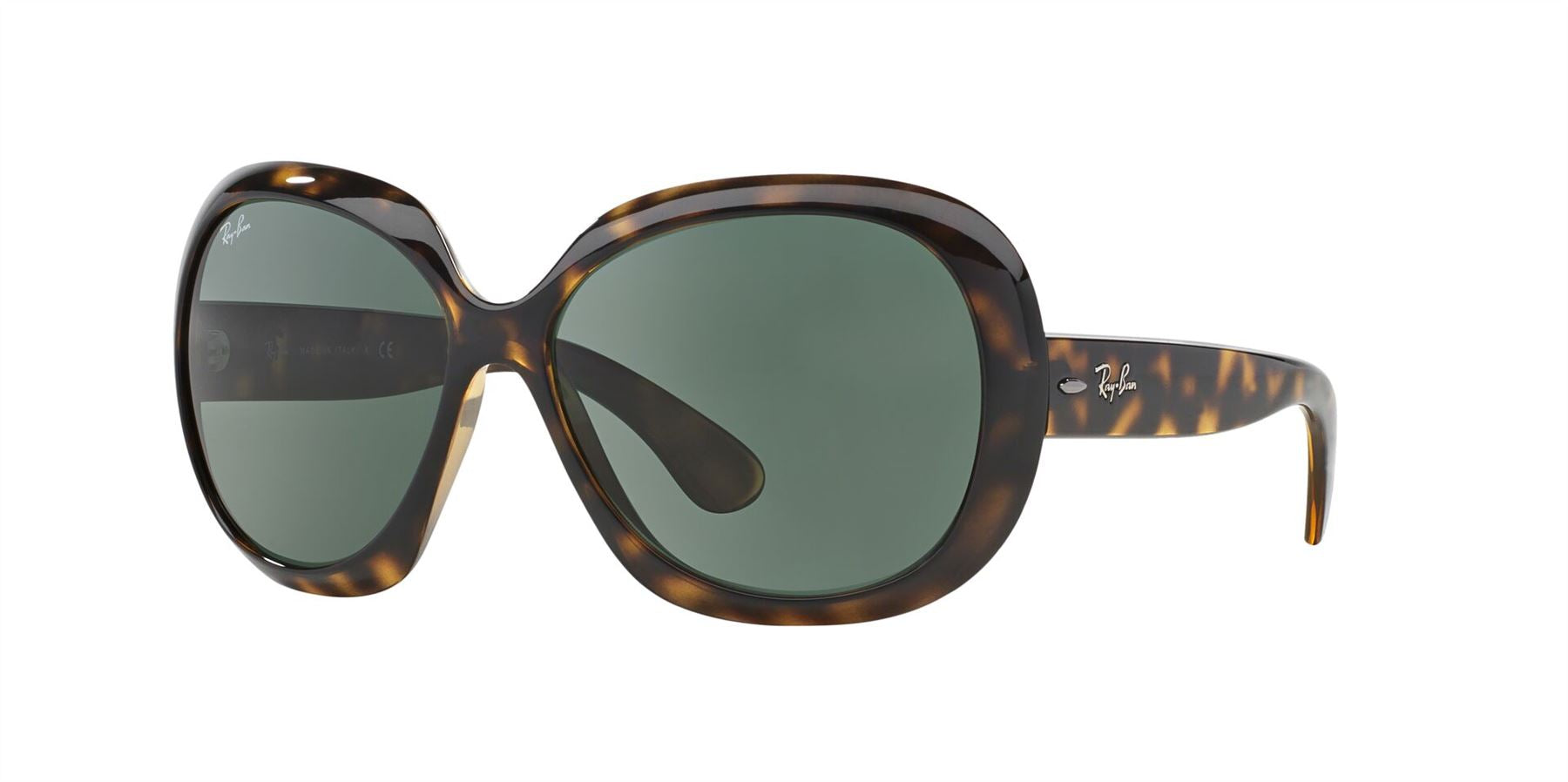 Ray-Ban Sunglasses JACKIE OHH II RB4098 710/71 Light Havana/Green - Size - 60