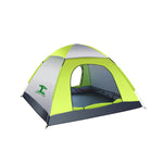 3-4 Person Waterproof Automatic Tent Outdoor Camping Sleeping Tent 210D Oxford Cloth Traveling Beach Tent