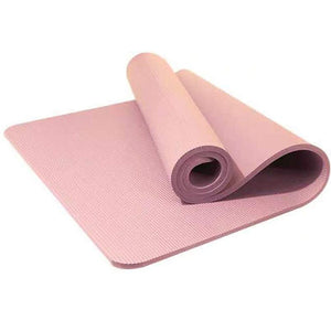 New Everyday Essentials All Purpose High Density Foam Exercise Yoga Mat with Carrying Strap