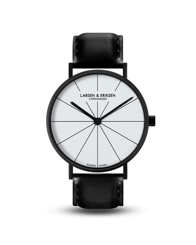 Absalon 37mm watch - Black | White