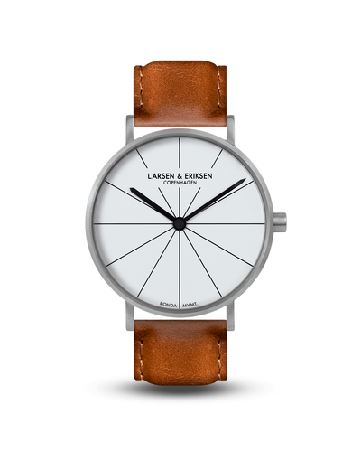 Absalon Watch 41mm - Silver | White