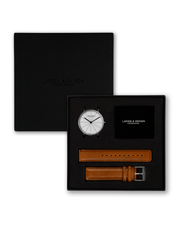 Reloj Absalon 41mm - Silver | White