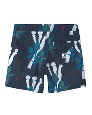 Bañador Shaka Swim Trunk - Tom Król Flowers Print Midnight