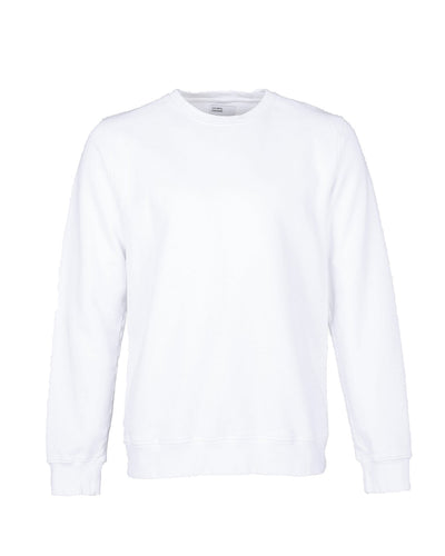 Sudadera de cuello redondo - Optical White